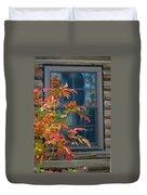 Autumn Window Duvet Cover