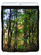Autumn Wood Duvet Cover