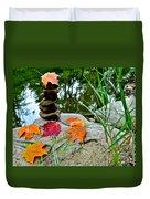 Autumn Zen Duvet Cover