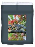 Autumnal Squirrel Duvet Cover