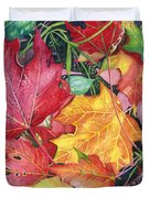 Autumn's Carpet Duvet Cover