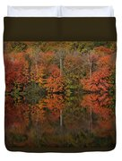 Autumns Design Duvet Cover by Karol Livote