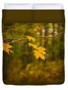 Autumns Fast Approach Duvet Cover