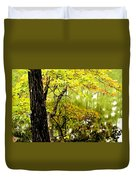 Autumn's First Reflections II Duvet Cover