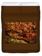 Autumn's Glory Duvet Cover by Anne Gilbert