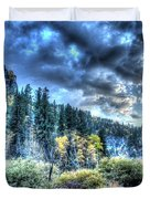 Autumns Goodbye Duvet Cover by Anthony Wilkening