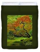 Autumn's Paintbrush Duvet Cover