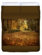 Autumn's Passage Duvet Cover
