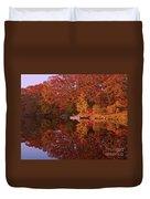 Autumn's Reflection Duvet Cover