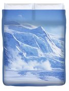 Avalanche At A Distance Duvet Cover