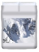 Avalanche I Duvet Cover by Bill Gallagher