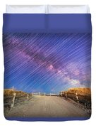 Avalon Star Trails  Duvet Cover