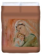 Ave Maria Duvet Cover