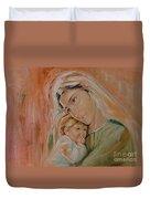 Ave Maria Duvet Cover