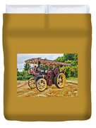 Aveling And Porter Showmans Tractor Duvet Cover