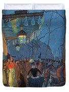 Avenue De Clichy Paris Duvet Cover