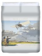 Aviation Meeting At Champagne Duvet Cover