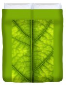 Avocado Leaf Duvet Cover