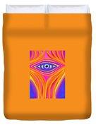 Awakening The Desert Eye Duvet Cover