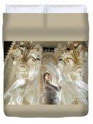 Awash In White Duvet Cover