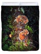Awe Inspiring Fungi Duvet Cover