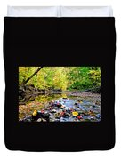 Awesome Autumn  Duvet Cover by Frozen in Time Fine Art Photography