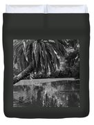 Awesome Pond 1 Duvet Cover by Denise Mazzocco