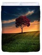 Awesome Solitude Duvet Cover