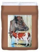 Ayrshire Cattle Duvet Cover