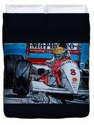 Ayrton Senna Monaco 93 Duvet Cover