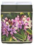 Azalea Art Duvet Cover