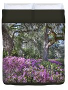 Azalea In Bloom Duvet Cover