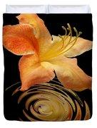 Azalea Ripples Vertical Duvet Cover