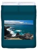 Azores Islands Ocean Duvet Cover