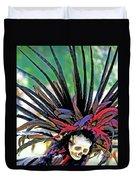 Aztecan Ceremony 15 Duvet Cover