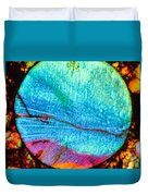 Azure Sunset Duvet Cover