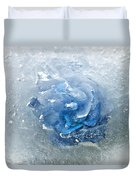 Azure Touch  Duvet Cover