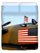 B-24 Bomber - Diamond Lil Duvet Cover