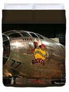B-29 Bockscar Duvet Cover
