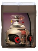 B-9 Robot From Lost In Space Duvet Cover