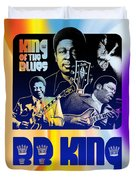 B. B. King Poster Art Duvet Cover