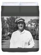 Babe Didrikson Portrait Duvet Cover