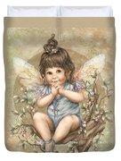 Baby Berry Fairy Duvet Cover