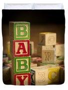Baby Blocks Duvet Cover