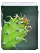 Baby Cactus - Macro Photography By Sharon Cummings Duvet Cover