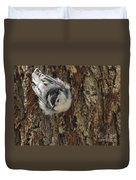Baby Nuthatch Duvet Cover