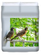 Baby Robin - Ready...just Do What I Do Duvet Cover