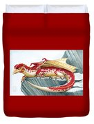 Baby Scarlet Spotted Dragon Duvet Cover
