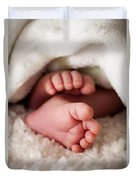 Baby Toes Duvet Cover