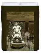 Bacchus Fountain Duvet Cover